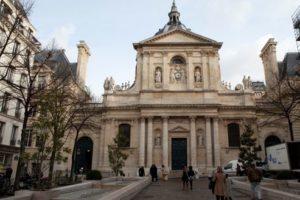 Entrée de l'université Paris I de la Sorbonne