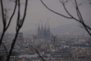 Barcelone vue générale