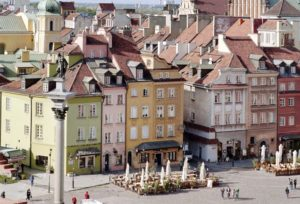 Place du chateau - Varsovie -