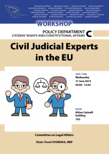 workshop on civil judicial experts in eu